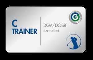 C-Trainer Logo DGV/DOSB